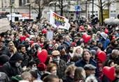 برگزاری اعتراضات ضد محدودیتهای کرونایی در شهرهای آلمان