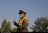 رژه روز ارتش در قزوین به روایت تصویر