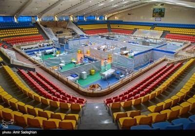 بیمارستان پشتیبان ارتش برای بیماران کرونایی-شیراز