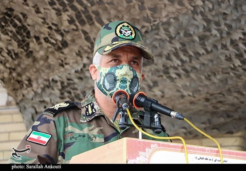 فرمانده قرارگاه جنوب شرق ارتش: کوچکترین تهدید را در کمترین زمان سرکوب میکنیم / اجازه هیچ تعرضی را به مرزها نمیدهیم