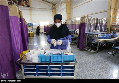 بیمارستان صحرایی بیماران کرونایی - اصفهان