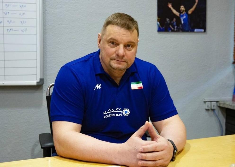 ولادیمیر آلکنو , والیبال , والیبال ایران ,