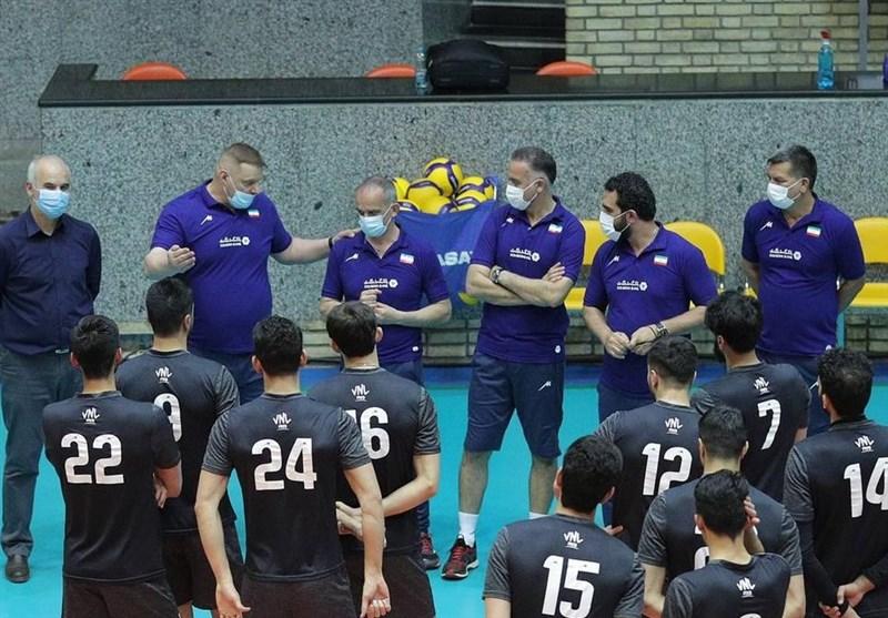 برای حضور در لیگ ملتها؛ اعلام لیست 17 نفره تیم ملی والیبال از سوی آلکنو