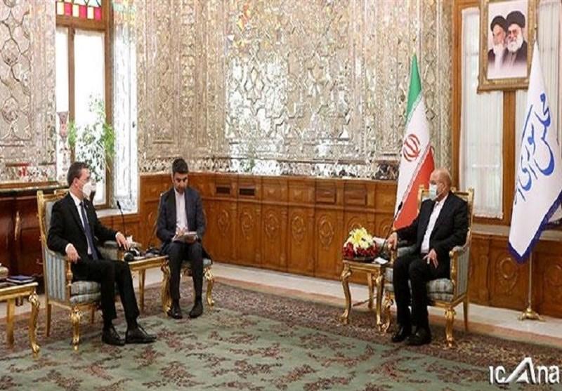 رئیس مجلس الشورى یؤکد على ضرورة تعزیز التعاون بین ایران وصربیا