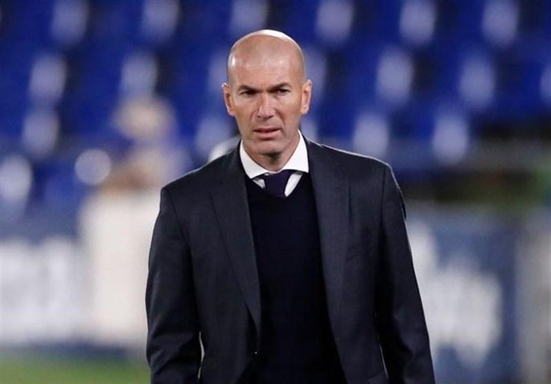 زیدان جداییاش از رئال مادرید را به بازیکنان اعلام کرد