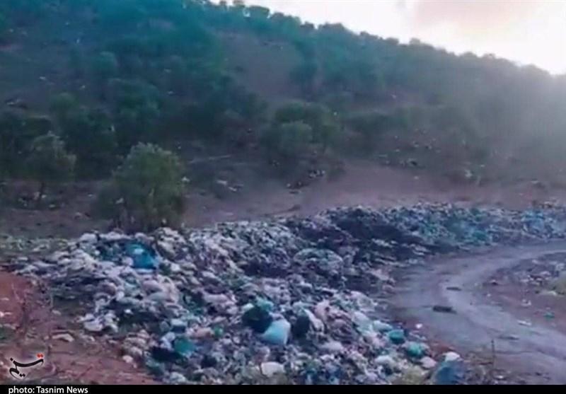 معضل پشت معضل برای دفن زباله در جنگلهای بلوط لردگان؛ نه مکان وجود دارد نه امکانات