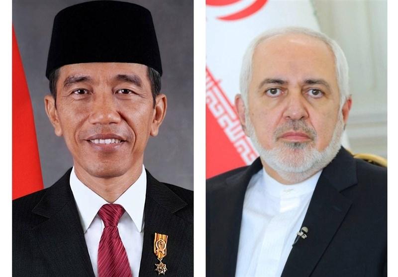 ظریف با رئیسجمهور اندونزی دیدار کرد