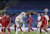 لیگ برتر انگلیس| لیورپول در آخرین لحظات پیروزی برابر لیدز را از دست داد
