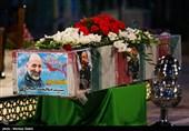 ورود پیکر مطهر سردار حجازی به اصفهان