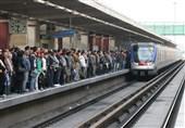 سرویسدهی متروی تهران و حومه در روز جهانی قدس همانند روزهای تعطیل