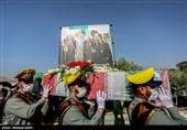 Funeral of General Hejazi Held in Isfahan