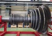 نخستین روتور توربین بخار ساخت ایران در استان البرز رونمایی شد