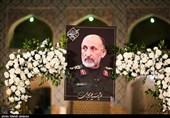 حضور رئیس قوه قضائیه در مراسم یادبود سردار حجازی