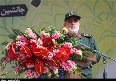 Resistance Front Dealing Successive Blows to Foes: IRGC Quds Force Chief
