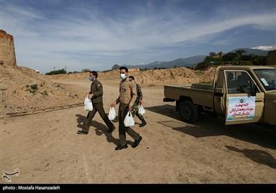 مواسات و همدلی ارتش در استان گلستان