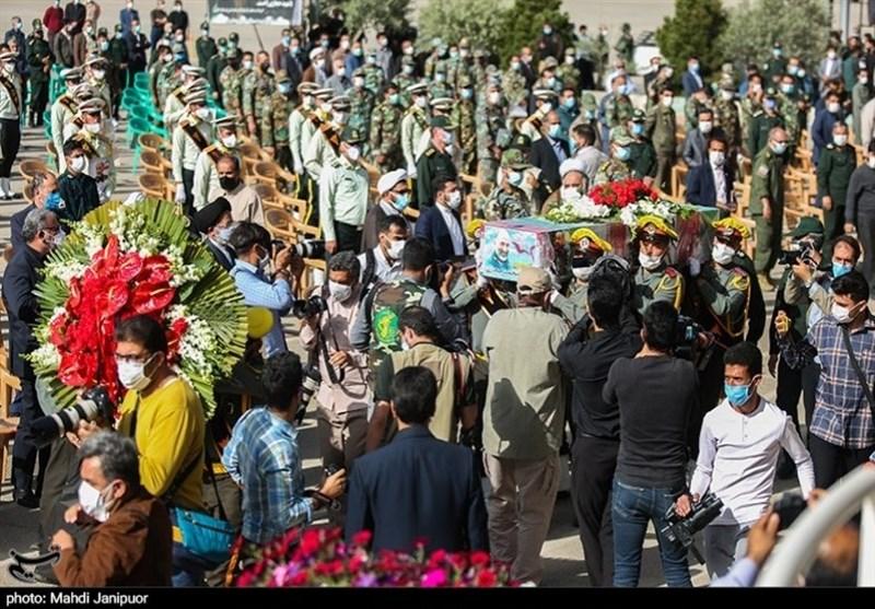 تشییع سردار شهید حجازی در اصفهان 2