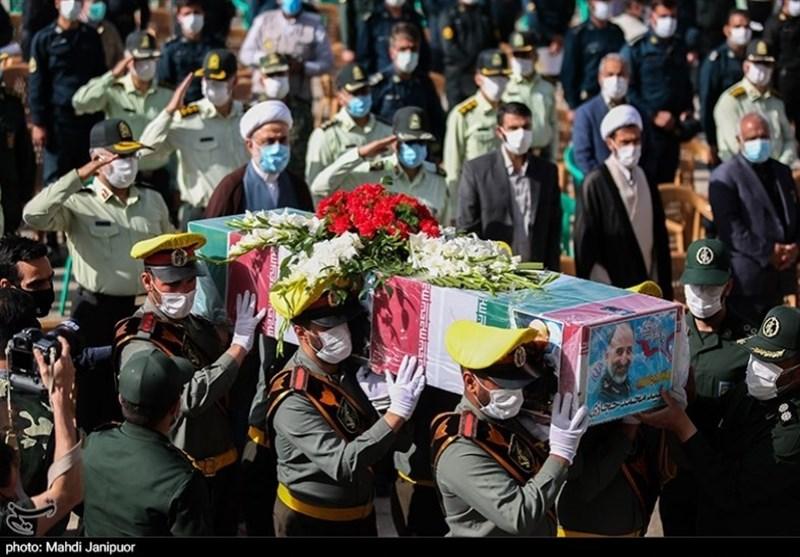 تشییع سردار شهید حجازی در اصفهان 3