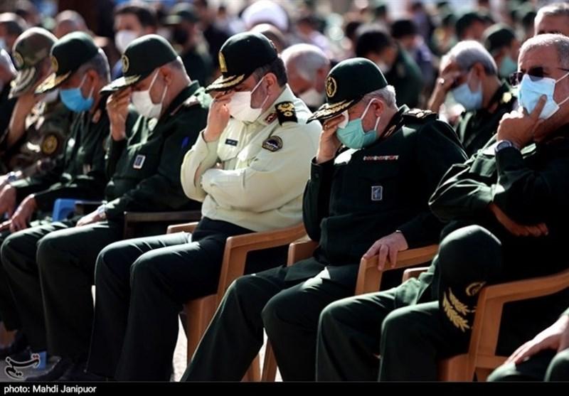 تشییع سردار شهید حجازی در اصفهان 4