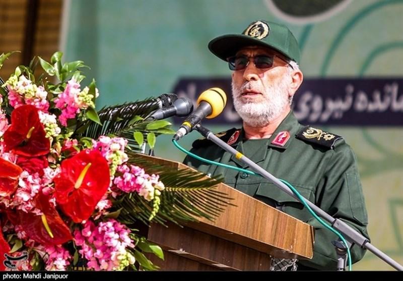 سردار قاآنی: جبهههای مقاومت هر روز یک اقدام اساسی مقابل آمریکا و اسرائیل انجام میدهند/ راه شهید حجازی ادامه دارد