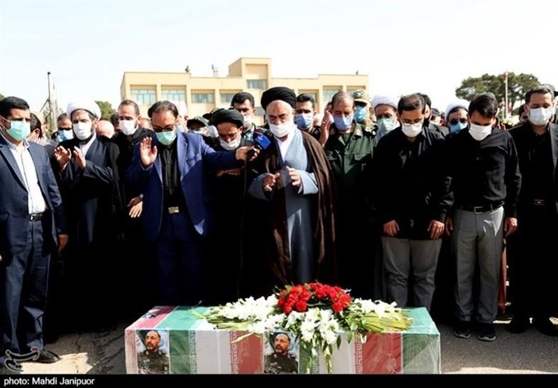 تشییع سردار شهید حجازی در اصفهان 11