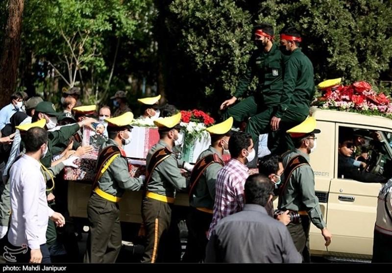 تشییع سردار شهید حجازی در اصفهان 12