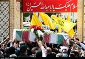 تشییع پیکر سردار شهید اسلام سید محمد حجازی در اصفهان به روایت تصویر