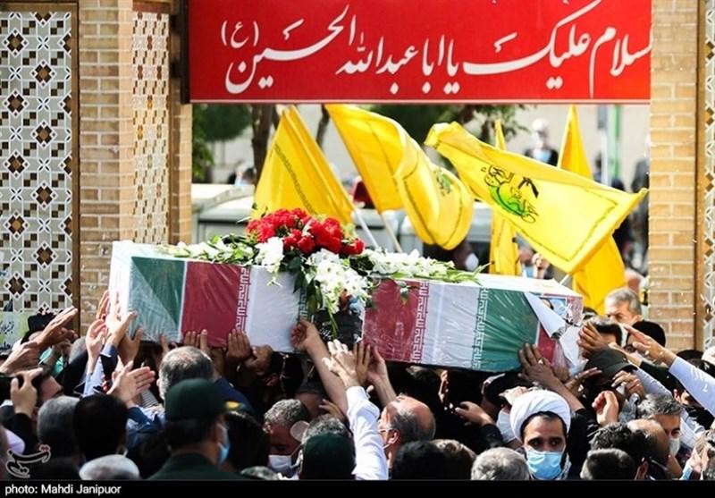 تشییع سردار شهید حجازی در اصفهان 13