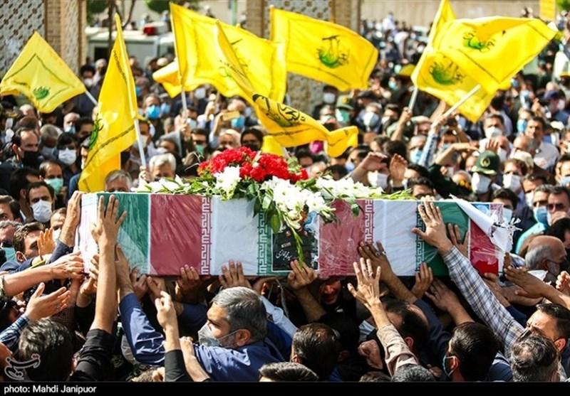 تشییع سردار شهید حجازی در اصفهان 14