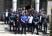 اعضای تیم ملی کشتی آزاد با سرکنسول ایران در استانبول دیدار کردند