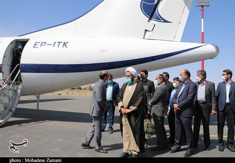 پرواز تهران از فرودگاه رفسنجان مجددا راهاندازی شد+تصاویر