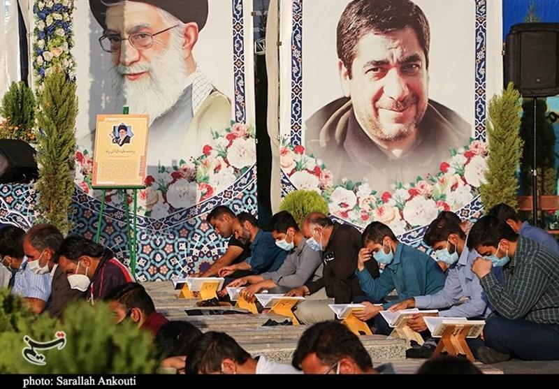 استان کرمان , شهید , شهید سپهبد قاسم سلیمانی , قرآن , ماه رمضان ,