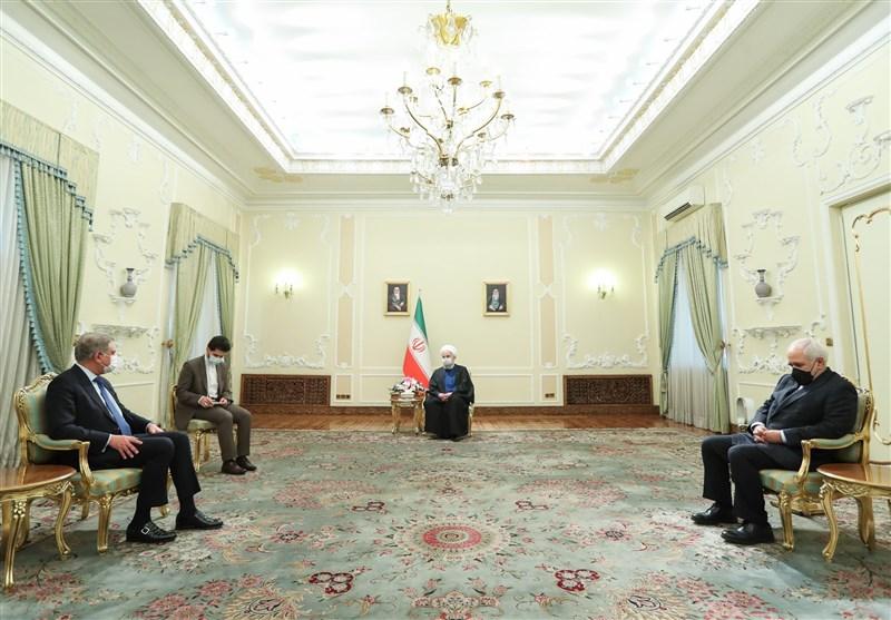 روحانی: الأمن هو الهاجس المشترک لإیران وباکستان