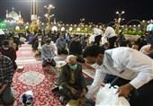 خوان رحمت امام رئوف در ماه رمضان/ «افطاری ساده» در جوار امام هشتم(ع) ویژه زائران + تصاویر
