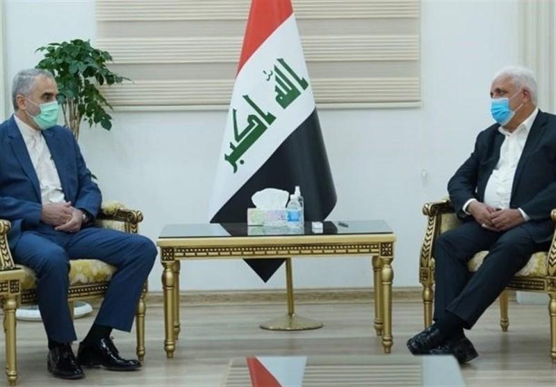ایران والعراق یؤکدان أهمیة التعاون العسکری وتعزیز جهود مکافحة الإرهاب