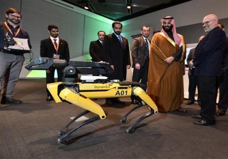 عربستان| مخترع سگ رباتیک مشاور محمد بن سلمان شد