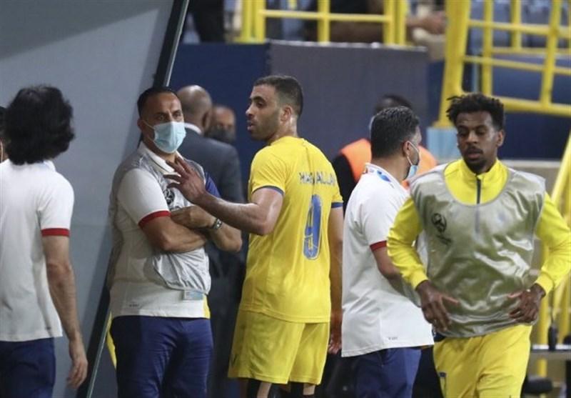 حرکت غیراخلاقی مهاجم جنجالی النصر در دیدار با فولاد/ باشگاه ایرانی به AFC شکایت کرد