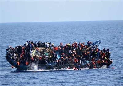 غرق شدن یک قایق حامل ۱۳۰ پناهجو در سواحل لیبی