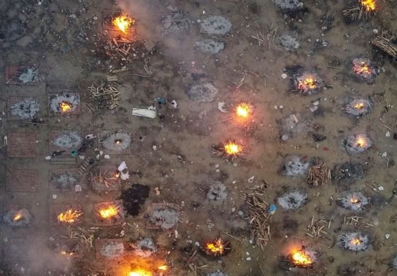 آتش سوزی در یکی از بیمارستانهای هند و مرگ 13 بیمار مبتلا به کرونا