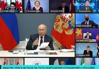پوتین: روسیه خواستار تلاش بینالمللی بیشتر برای بهبود تغییرات آب و هوایی است