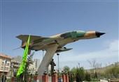 رونمایی از یادمان شهدای خلبان و فرمانده عملیات اچ3 در کرمانشاه