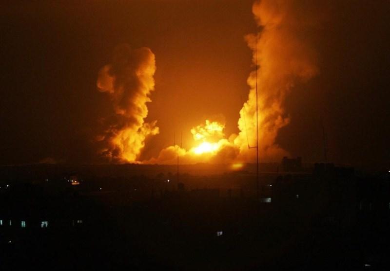 حمله توپخانهای رژیم صهیونیستی به دو مرکز دیدبانی مقاومت فلسطین در غزه