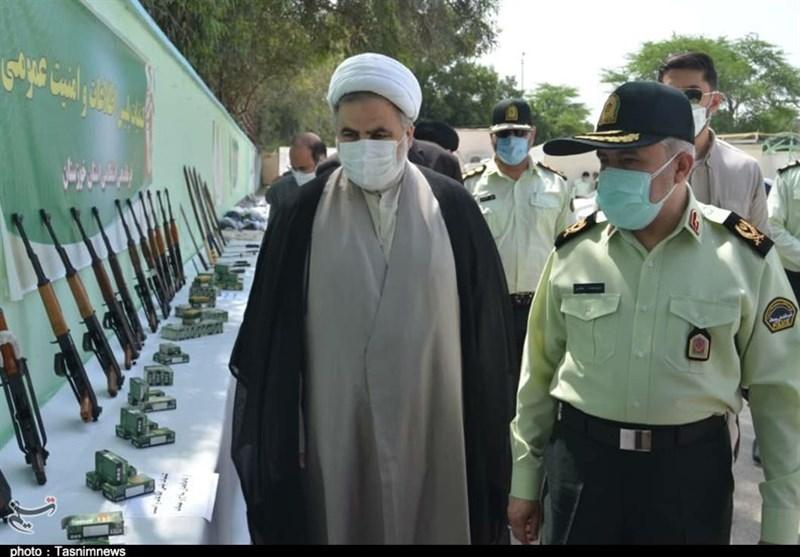 350 قبضه سلاح غیرمجاز در استان خوزستان کشف شد + تصاویر