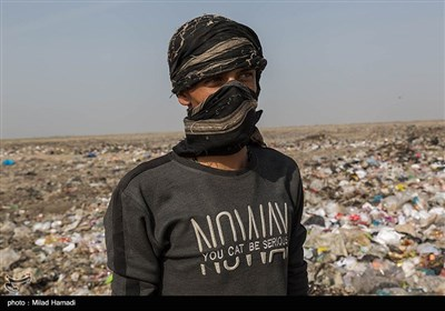 دپوی زباله درمجاورت تالاب شادگان