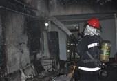 آتش سوزی در هتل ایران اهواز/نجات 15 مسافر هتل از میان دود و شعله های حریق ساختمان هتل