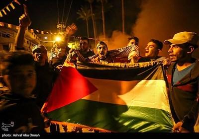 تظاهرات غزه در همبستگی با مردم قدس
