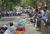 رکوردی دیگر برای هند؛ بیش از 400 هزار مبتلای جدید تنها در 24 ساعت