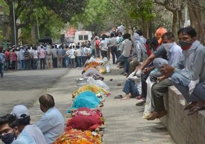 رکوردی دیگر برای هند؛ بیش از ۴۰۰ هزار مبتلای جدید تنها در ۲۴ ساعت