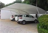 بررسی سایبان پارکینگ خودرو