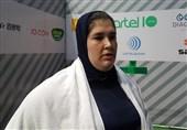 وزنهبرداری قهرمانی آسیا  فاطمه یوسفی هفتم شد