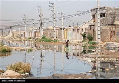 وضعیت آب و فاضلاب گلدشت اهواز